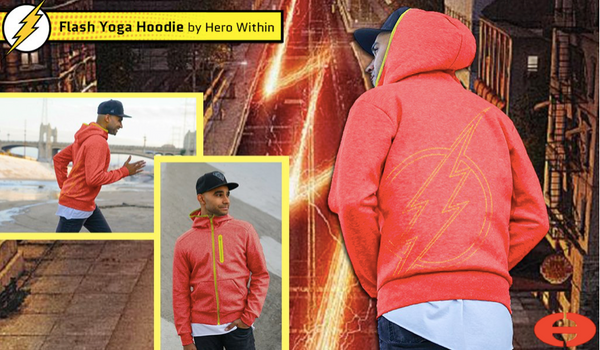 Hero Within Flash Hoodie