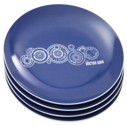 Doctor Who Salad Plates