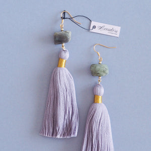 Beth earrings in Labradorite
