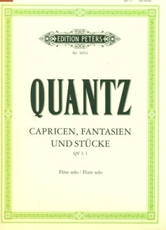 Caprices and Fantasies (Flute Alone)