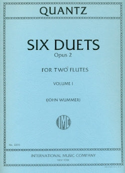 Six Duets, Op. 2 - Volume 1