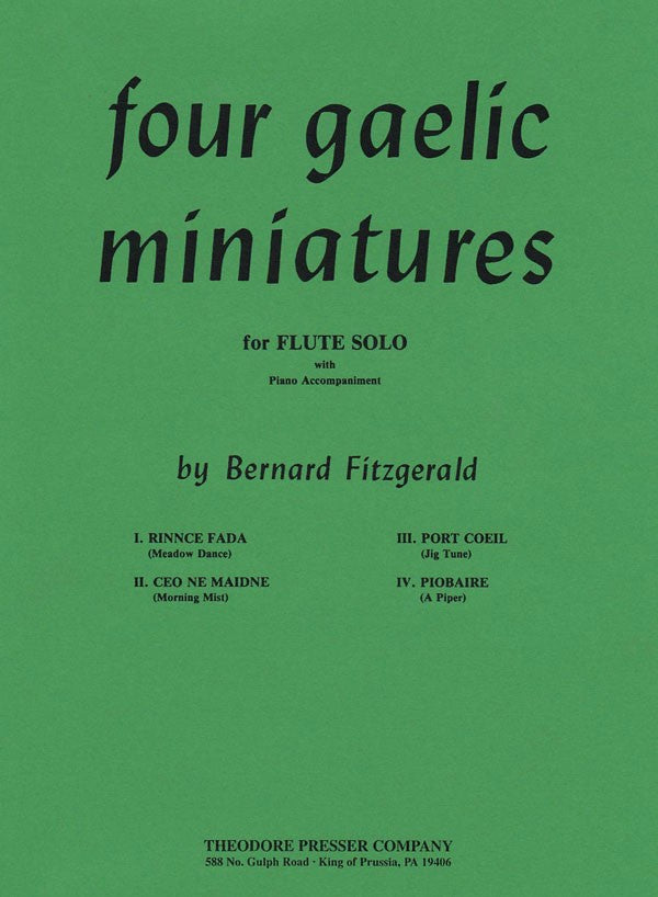 Four Gaelic Miniatures (Flute and Piano)