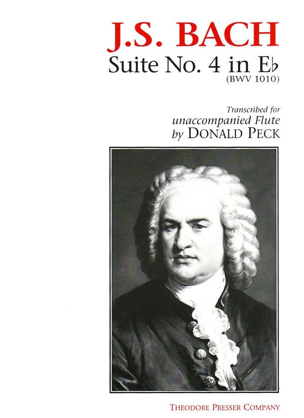 Suite No. 4 In Eb, BWV 1010 (Flute Alone)