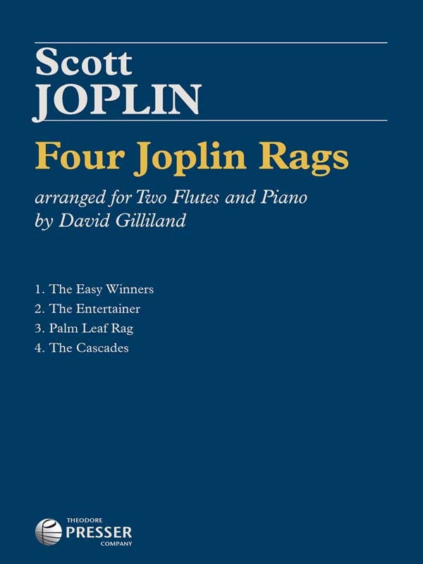 Four Joplin Rags (Two Flutes)