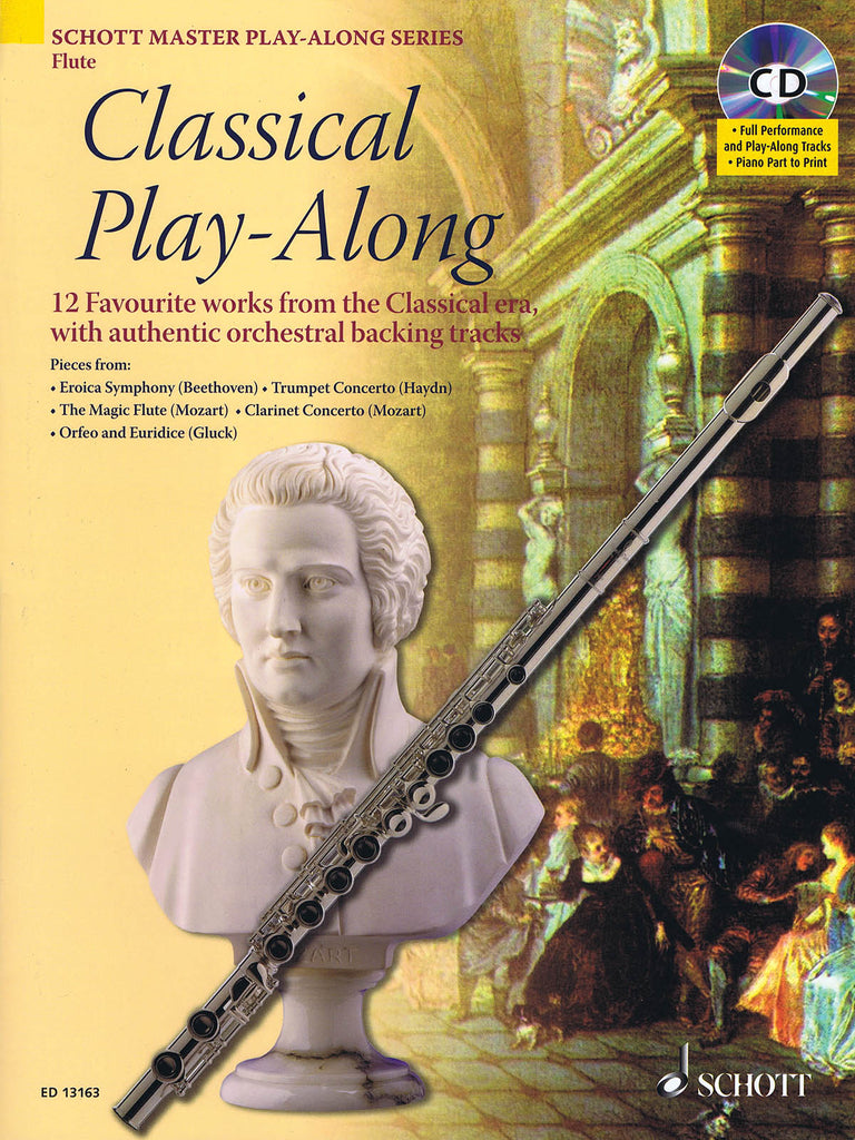 Classical Play-Along (Flute and Piano)