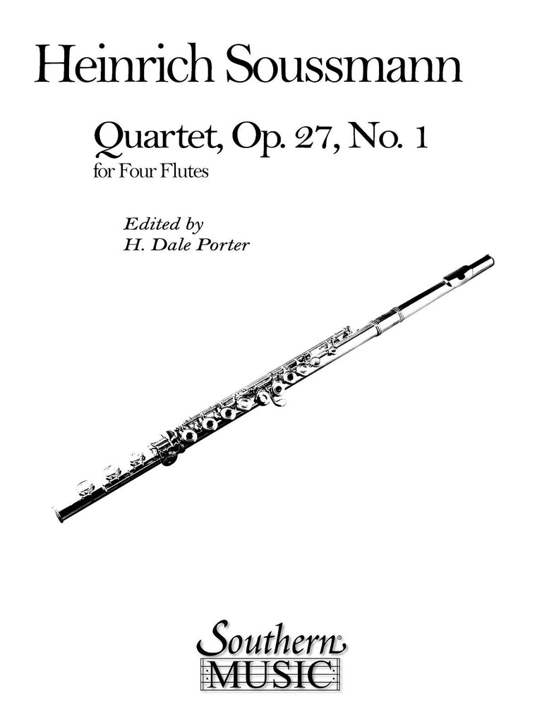 Quartet, Op. 27 No. 1 (Four Flutes)
