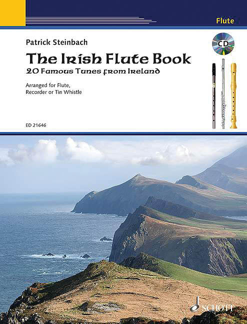 The Irish Flute Book - 20 Famous Tunes from Ireland
