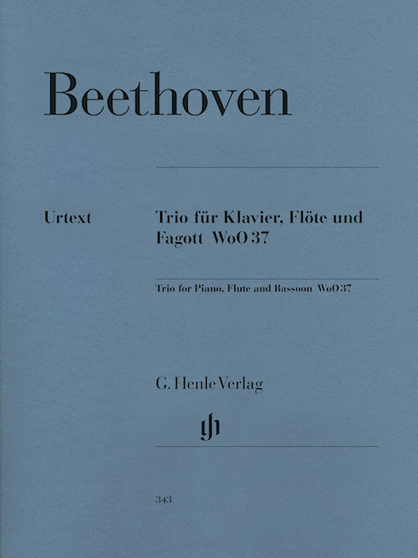 Trio for Piano, Flute, and Bassoon, WoO 37