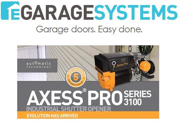 ATA Axess Pro 3110 With Roll Up Door Mounting Kit & Logic Console