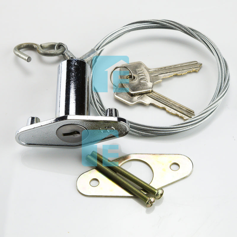 Guardian External Emergency Key Release Roller Sectional Tilt Garage Door GKR