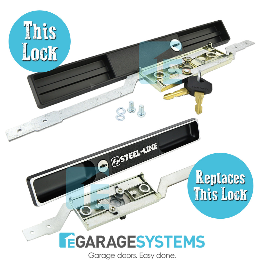 Copy Steel-Line Garage Door Lock