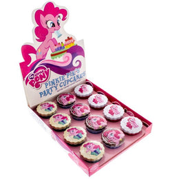 My Little Pony Licensed Candy Tins - Pinkie Pie's Party Cupcakes, 12-Pack