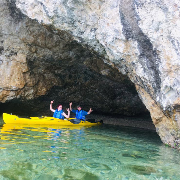 Kayak adventure on Thassos. 4-day memories of a lifetime.