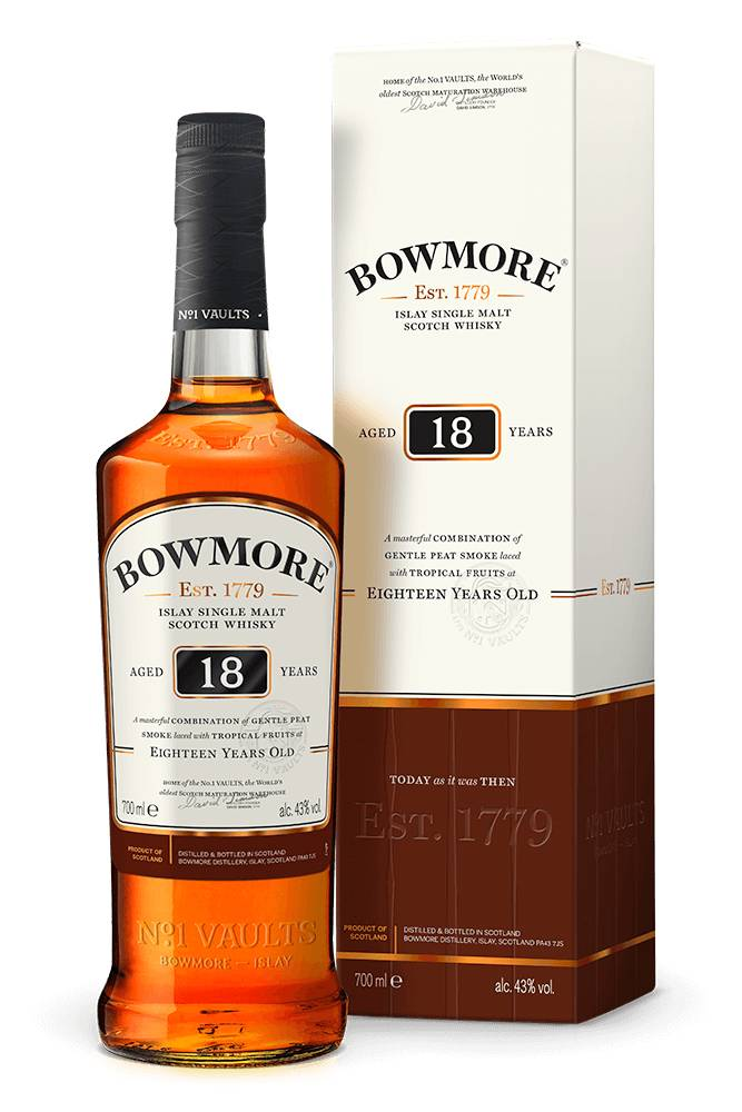 Bowmore 18 Year Single Malt Scotch
