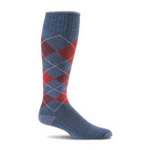 Sockwell Argyle Compression Socks - Men 15-20 mmHg
