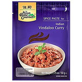 Pasta de Especias para Curry Indio Vindaloo Asian Home Gourmet 50g