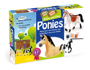 Paint & Play Ponies