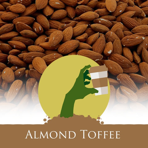 Coffee - Almond Toffee Crunch Flavored Coffee