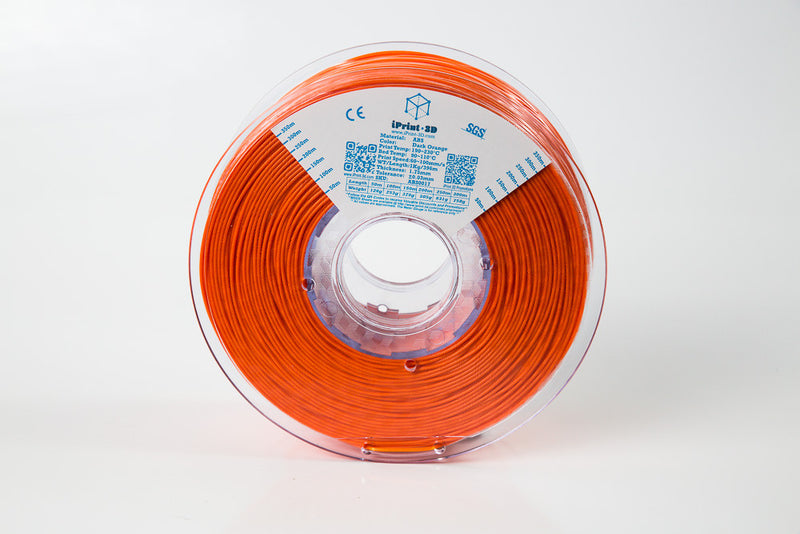 Dark Orange ABS Premium 3D Filament