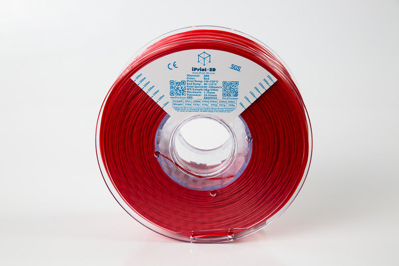 Red ABS Premium 3D Filament