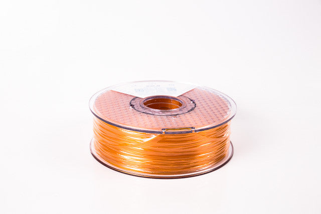 Transparent Orange PLA Premium 3D Filament