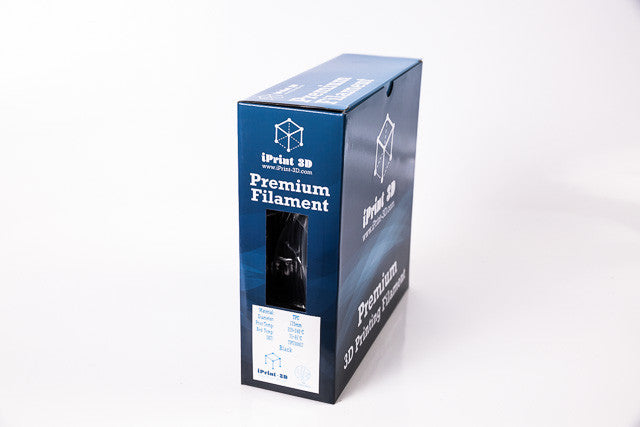 Black TPU Flexible Premium 3D Filament