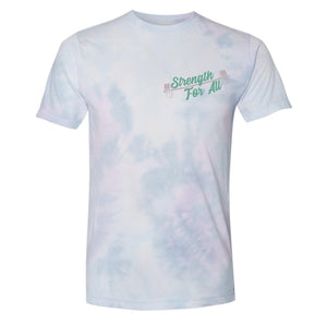 Strength For All Purple Tie-Dye Shirt