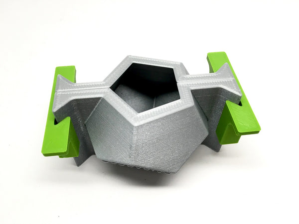 Dodecahedron Planter Mold - 3D Printed PLA - Sacred Geometry