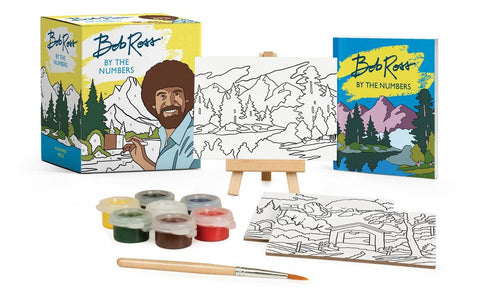 Bob Ross By the Numbers