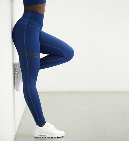 Activewear Pants Golden High Waist