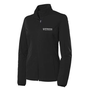 Ladies Active Soft Shell Jacket BLACK