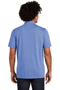 SEI - Sport-Tek PosiCharge Tri-Blend Wicking Polo - True Royal Heather