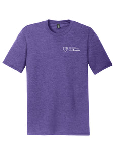 MBA CHEDDAR - District Perfect Tri Tee - Purple Frost