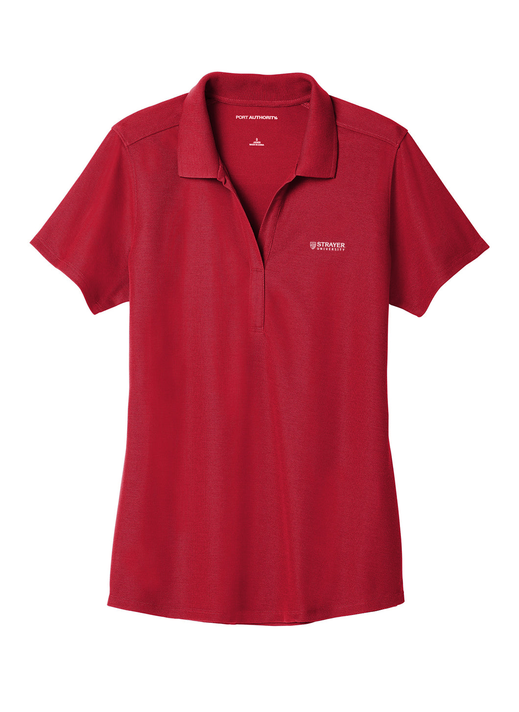 Port Authority Ladies EZPerformance Pique Polo - Apple Red