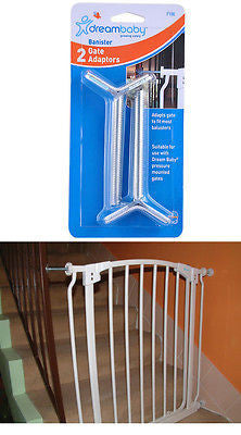 New Dreambaby Banister Adaptors Pressure Mounted Baby Safety Gate Dream - BumpsieDaisy