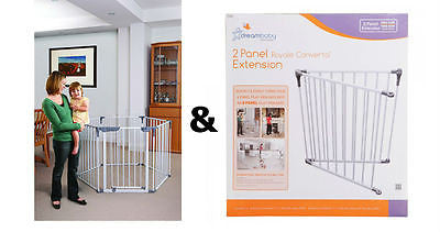 Dreambaby Royal Converta 3 in 1 Baby Playpen & 2 Panel Extension Play pen yard - BumpsieDaisy