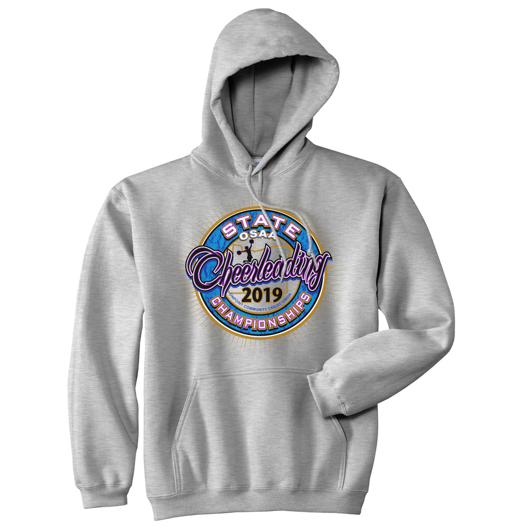 Cheerleading State Championships Hooded Sweatshirt 2019