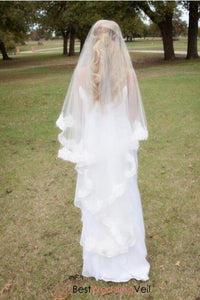 gorgeous-lace-drop-wedding-veil-meaning-waltz-length-style