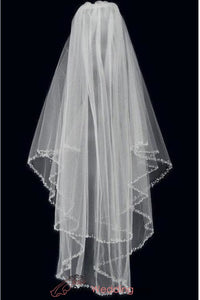 sparkling-two-layer-beaded-edge-wedding-veil-in-fingertip-length