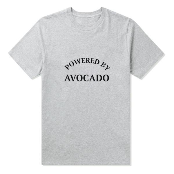 Powered by Avocado Famous Tee - Black, White or Gray