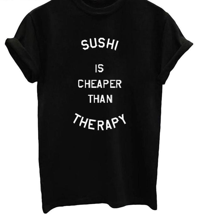 Sushi Famous Tee - Black, White or Gray