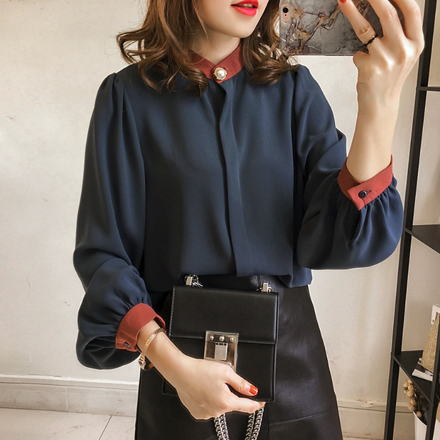 CHIC NYC Ladies Classic Chiffon Shirt