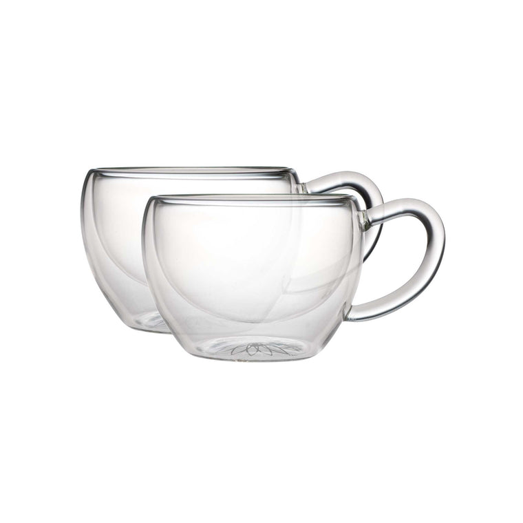 teaposy socrates double-walled glass tea cups