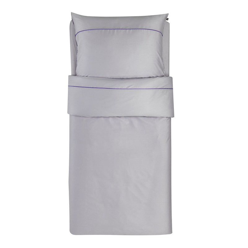 Odeja 200 x 140 plus 60 x 80 cm Decor Basic N Single Bedlinen Set, Pack of 1, Light Purple