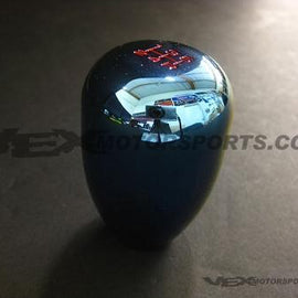 BLOX RACING LIMITED 5 SPEED SHIFT KNOB 12X1.25MM ELECTRIC BLUE FOR SUBARU WRX FO
