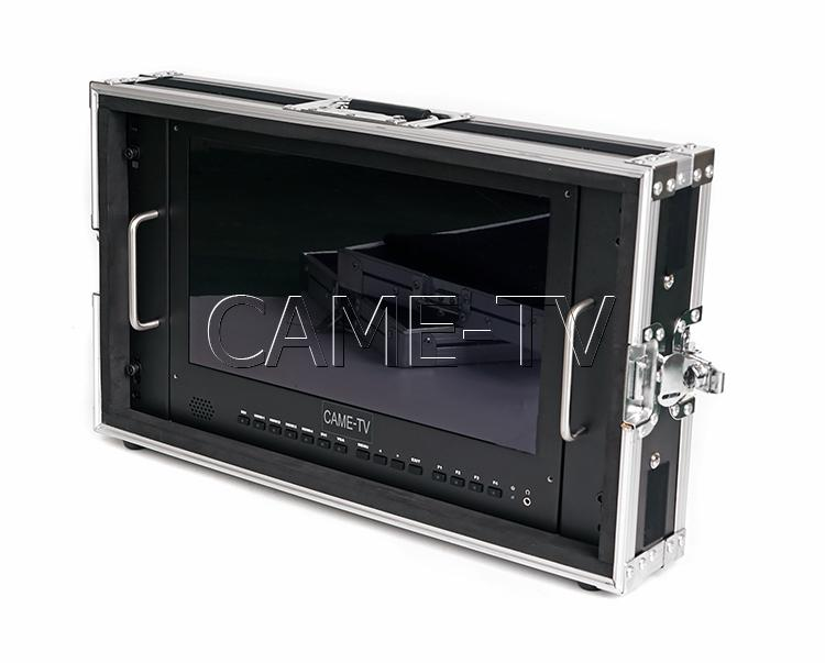 CAME-TV 15.6 Inch 4K Broadcast Director Monitor CarryOn Rackable