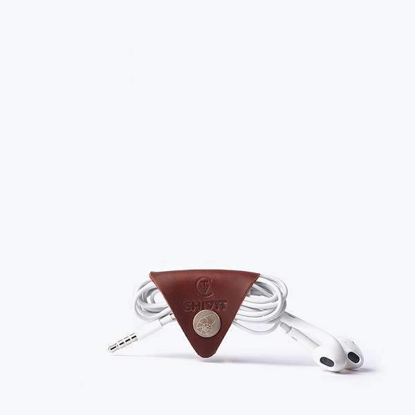 red brown colour cable organizer