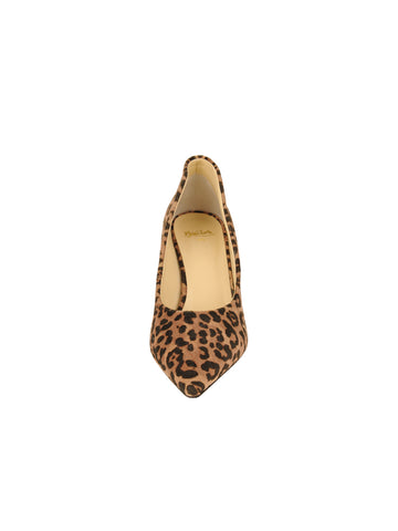 Womens Cheetah Emmy Pointed Toe Pump 4 Alternate View