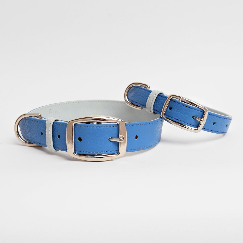 The Finley Collar in Bright Blue
