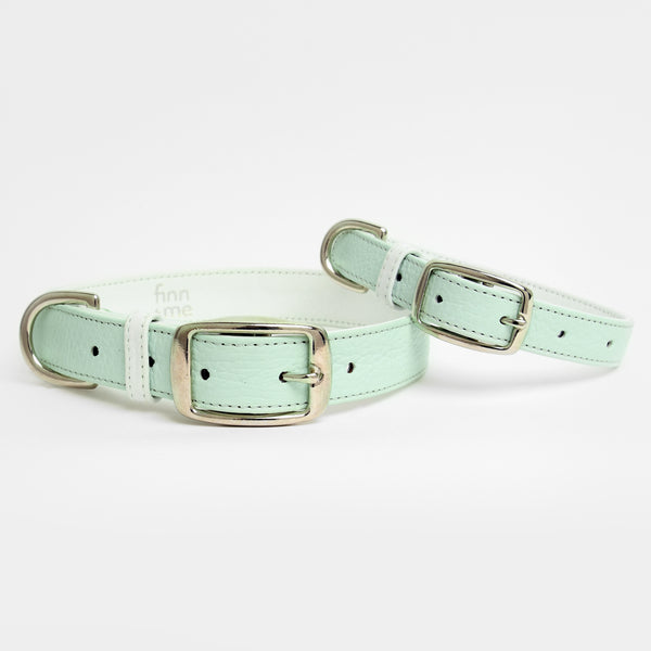 The Finley Collar in Mint Matcha